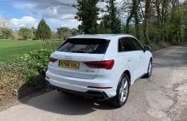 Audi Q3, rear
