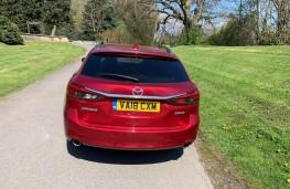 Mazda6 Tourer, rear