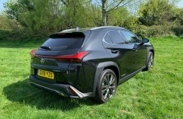 Lexus UX, rear