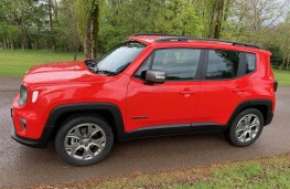 Jeep Renegade, side