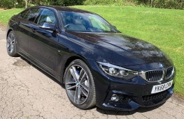 BMW 4 Series Gran Coupe, front