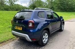 Dacia Duster, rear