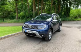 Dacia Duster, front