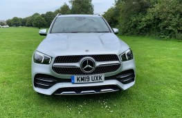 Mercedes GLE, front