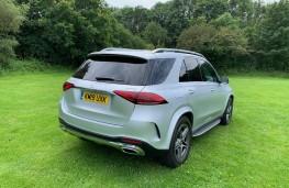 Mercedes GLE, rear