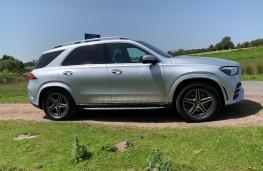 Mercedes GLE, side
