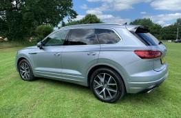 Volkswagen Touareg, rear
