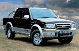 Ford Ranger Thunder, 2003, front