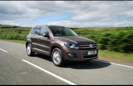 Volkswagen Tiguan, front, action