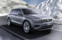 Volkswagen Tiguan Allspace, 2017, front, action