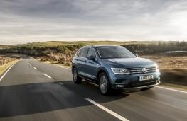 Volkswagen Tiguan Allspace, 2018, front, action