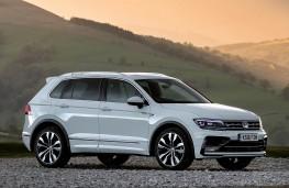Volkswagen Tiguan, front