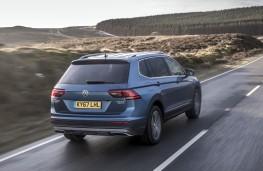 Volkswagen Tiguan Allspace, 2018, rear, action