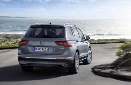 Volkswagen Tiguan Allspace, 2017, rear, action