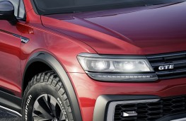 Volkswagen Tiguan GTE Active Concept, roof lights
