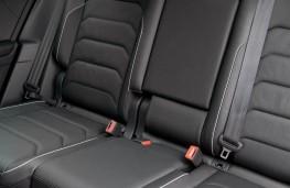 Volkswagen Tiguan, rear seats