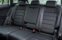 Volkswagen Tiguan, 2017, rear seats