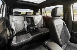 Volkswagen Tiguan Allspace, 2021, rear seats