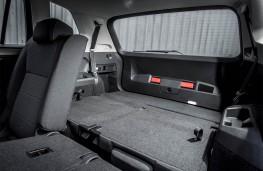 Volkswagen Tiguan Allspace, 2018, rear seats folded