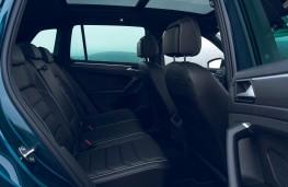 Volkswagen Tiguan, 2021, rear seats