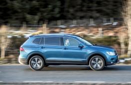 Volkswagen Tiguan Allspace, 2018, side, action