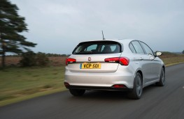 Fiat Tipo, 2016, rear, action