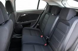 Fiat Tipo, 2016, rear seats