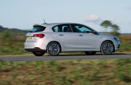 Fiat Tipo, 2016, side, action