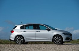 Fiat Tipo, 2016, side, static