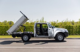 Isuzu D-Max tipper conversion, 2020, loadbed up