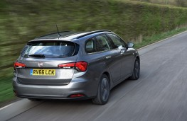 Fiat Tipo Station Wagon, rear, action