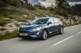 Ford Focus Titanium, 2018, front, action