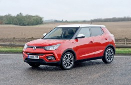 SsangYong Tivoli, 2018, front, static