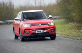 SsangYong Tivoli Ultimate, dynamic