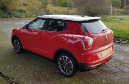 SsangYong Tivoli 1.6 Ultimate, rear