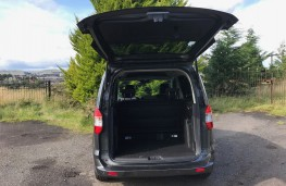 Ford Tourneo Courier, boot