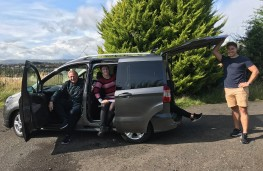 Ford Tourneo Courier, side, family