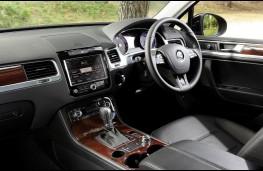 VW Touareg, interior