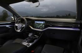 Volkswagen Touareg, 2018, interior, ambient light