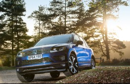 Volkswagen Touareg, front, off road