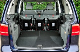 Volkswagen Touran, boot