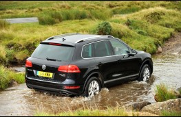 VW Touareg, rear