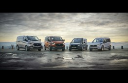 Ford Transit and Tourneo Active range, 2020, front