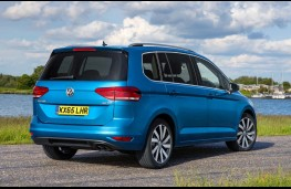 Volkswagen Touran, rear, static