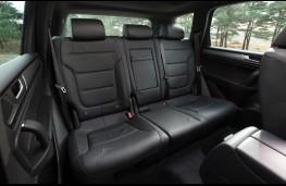 Volkswagen Touareg, rear seats