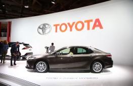Toyota Camry, Paris Motor Show, 2018