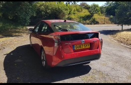 Toyota Prius Business Edition +2, rear