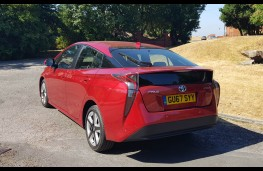 Toyota Prius Business Edition +2, back