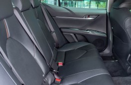 Toyota Camry, rear seats