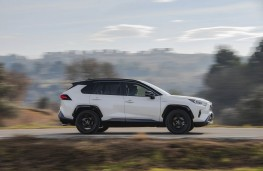 Toyota RAV4, side action